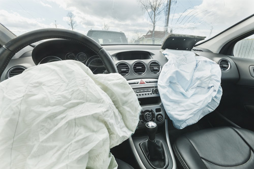 Faulty airbags caused injury